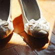 Bridal wedding day shoes — Stock Photo #38315459