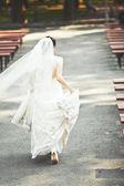 Runaway bride — Stock Photo
