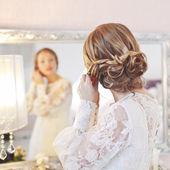 Bridal morning. — Stock Photo
