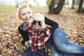 Mother with lovely son — Stock Photo