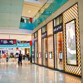 DUBAI, UAE - NOVEMBER 13:  Dubai Mall — Stock Photo