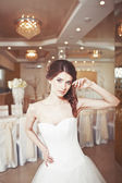 Charming young bride, wedding picture. — Stockfoto