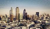 伦敦金融城 — 图库照片