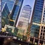 Canary Wharf, London — Stock Photo #13316718