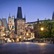 Charles Bridge in Prague - Foto Stock
