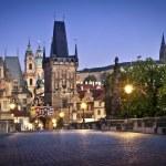 Karlsbron i Prag — Stockfoto