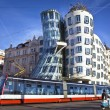 Dancing house, Prague - Stock Photo