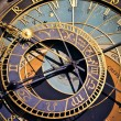 Astronomical clock in Prague, Czech republic — Stock Photo