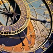 Stock Photo: Astronomical clock in Prague, Czech republic