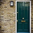 British Door, London — Stock Photo