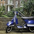 Scooter in Notting hill, London — Stock Photo