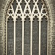 Medieval Church Windows — Stock Photo