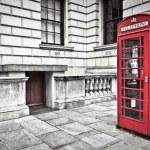 Telephone box in London — Stock Photo #13315891