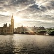 Stock Photo: Houses of Parliament and Big Ben, London