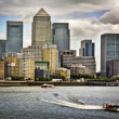 Canary Wharf, London - Stock Photo