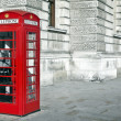 Telephone box in London — Stock Photo #13316608