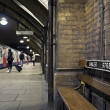 Baker Street subway station — Stock Photo