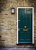 British Door, London — Stock Photo
