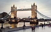 Tower Bridge at twilight — Stock Photo