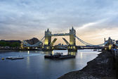 Tower Bridge at dusk — Stock Photo