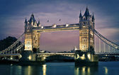 Tower Bridge at dusk — Stock Photo