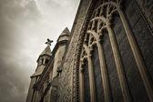 Středověký kostel — Stock fotografie