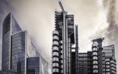 Lloyd's and Willis Building, London. — Stockfoto