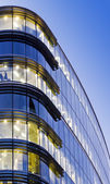 Office Building at twilight — Stock Photo