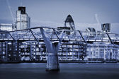 Skyline di Londra — Foto Stock