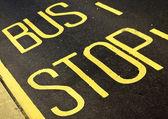 Bus Stop — Photo