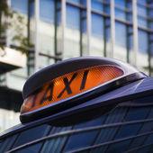 Taxi signe — Photo