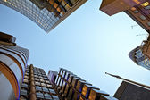 Financial district of London — Stock Photo