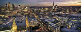 Miasta w londynie na zmierzch — Zdjęcie stockowe