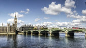 Houses of Parliament Panorama — Stock Photo