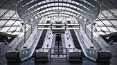 Canary Wharf Tube Station — Stock Photo