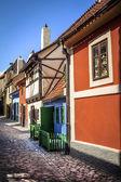 Golden Lane, Prague — Stock Photo