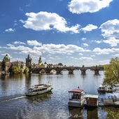 Prague, Charles Bridge (Karluv Most) — Stock Photo