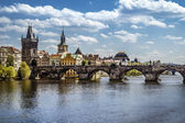 Prague, Charles Bridge (Karluv Most) — Stock Photo