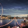 City of London at twilight — Stock Photo #41639819