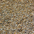 Royalty-Free Stock Photo: Colourful brown gravel background.