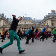 Flash mob dance. — Stock Photo
