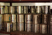 Tin cans — Foto Stock