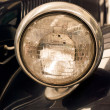 Antique car headlight — Stock Photo