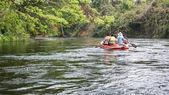 Water rafting — Stock Photo