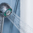 Stock Photo: Shower in a bathroom