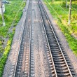 Railway train — Stock Photo