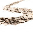 The road from coins — Stock Photo
