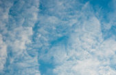 Sky with clouds — Stock fotografie