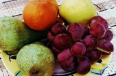 Consignment of fresh fruit — Stock Photo