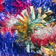Christmas tinsel background — Stock Photo #13255108